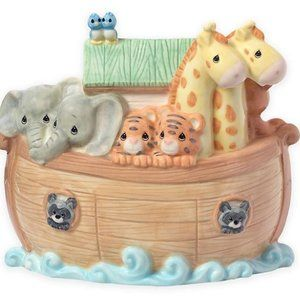 Precious Moments Noah's Ark Bank